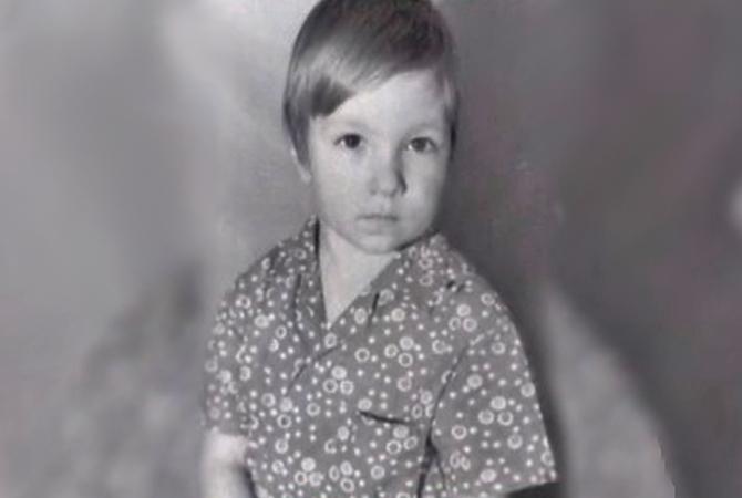 Григорий Антипенко в детстве