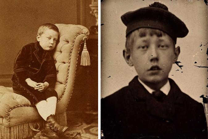 Руаль Амундсен в детстве