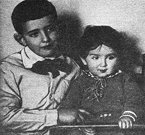 Александр Галич с братом Валерием