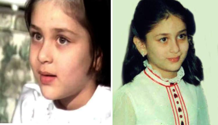 Карина Капур в детстве