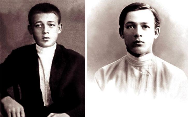 Сергей Лемешев в детстве и юности