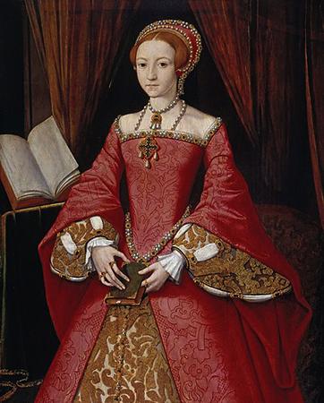Дочь — Елизавета I