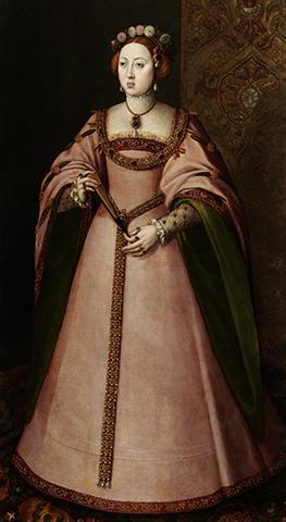 Первая жена — Мария Португальская