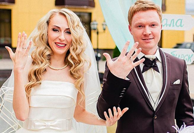 С мужем Леонидом