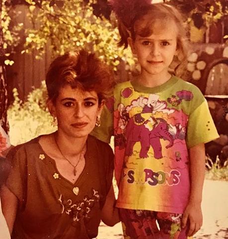 Екатерина Моргунова с мамой