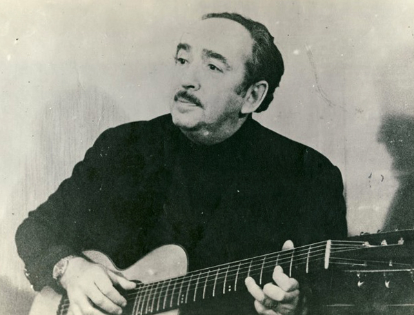 Александр Галич в старости