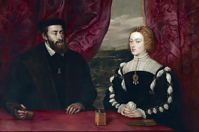 Родители – Карл V и Изабель