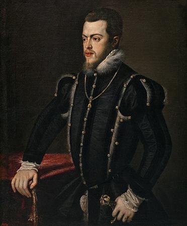 Филипп II. Портрет 1550 г.