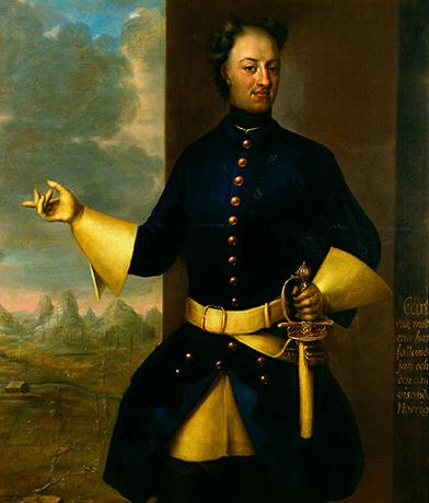 Портрет короля Карла XII