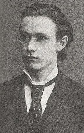 Рудольф Штейнер в 21 год (1882)