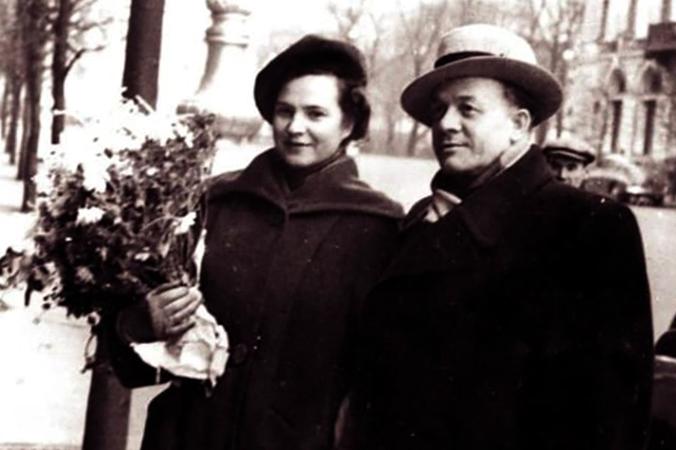 С пятой женой Верой