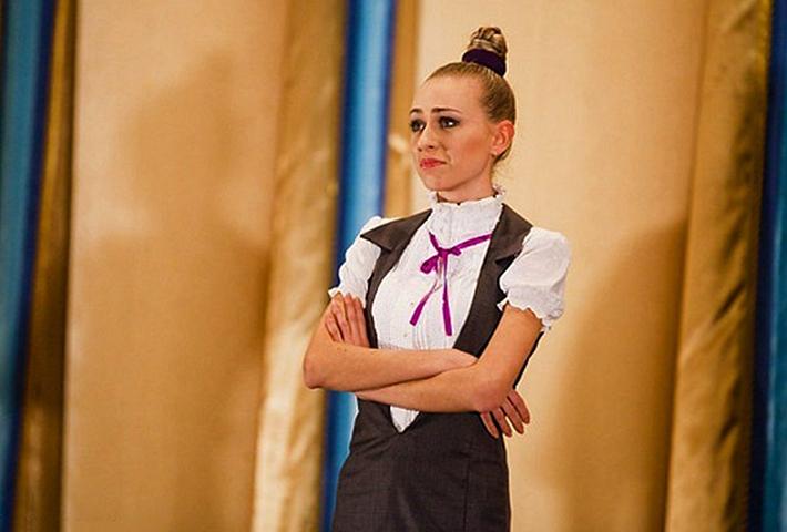 Екатерина Моргунова в молодости