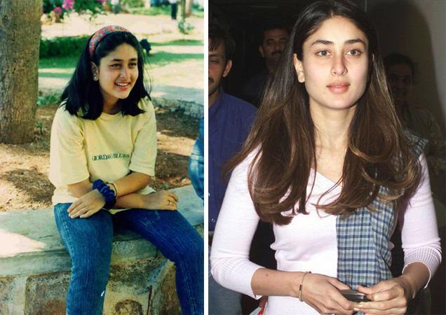 Карина Капур в юности и молодости