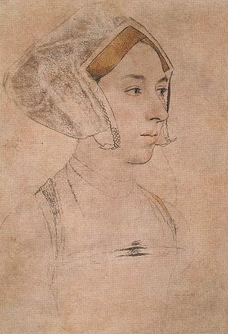 Анна Болейн в молодости. Рисунок Г. Гольбейна-младшего