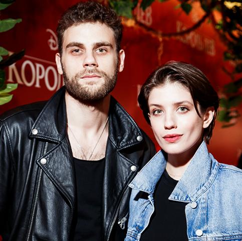 Дмитрий Ендальцев и Анна Чиповская
