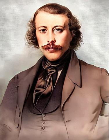 Михаил Бакунин. Портрет 1843 г.