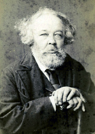 Михаил Бакунин в 1872 г.