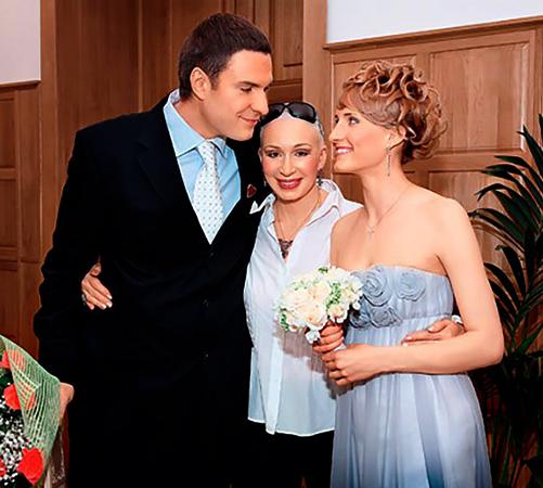 С Анастасией Бегуновой и мамой