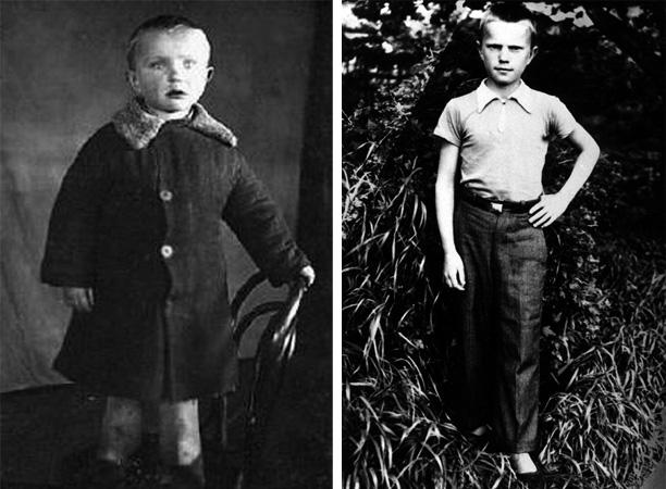 Геннадий Зюганов в детстве