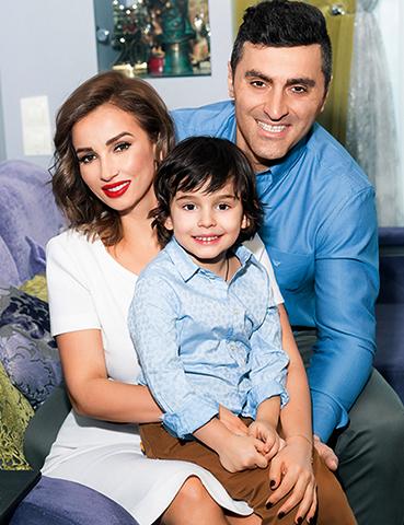 С Гурамом Баблишвили и сыном Соломоном