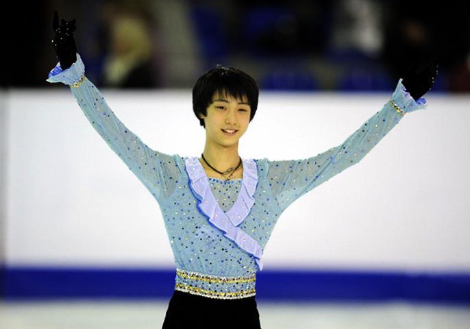 Юдзуру Ханю в 2010 году