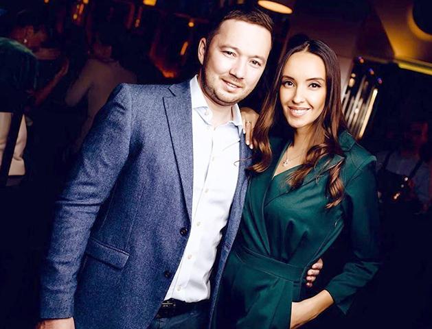 С мужем Валерием