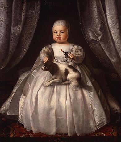 Карл II в младенчестве в 1630 году — картина, приписываемая Юстусу ван Эгмонту