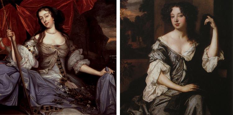 Самые известные любовницы Карла II — Барбара Вильерс и Луиза Керуаль