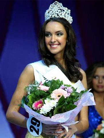 На конкурсе «Мисс Нижний Новгород» (2005)