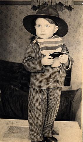 Юрий Охочинский в 3 года