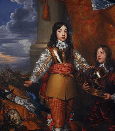 Карл II на портрете Уильяма Добсона, ок. 1642 г.