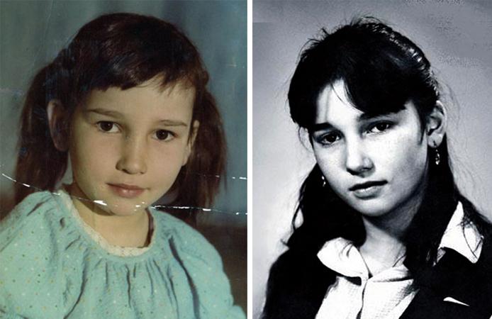 В детстве и юности