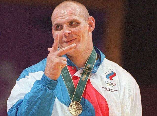 Александр Карелин на Олимпиаде-1996 в Атланте