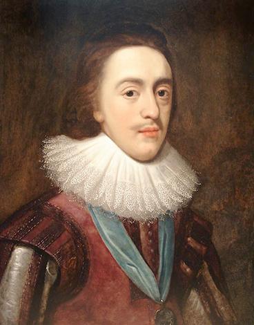 Портрет Карла I в образе принца Уэльского худ. Даниэль Митенсь, ок. 1623 г.