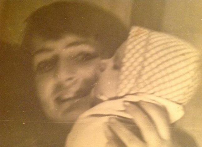 Ирина Цывина с мамой в младенчестве