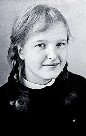Елена Соловей в детстве
