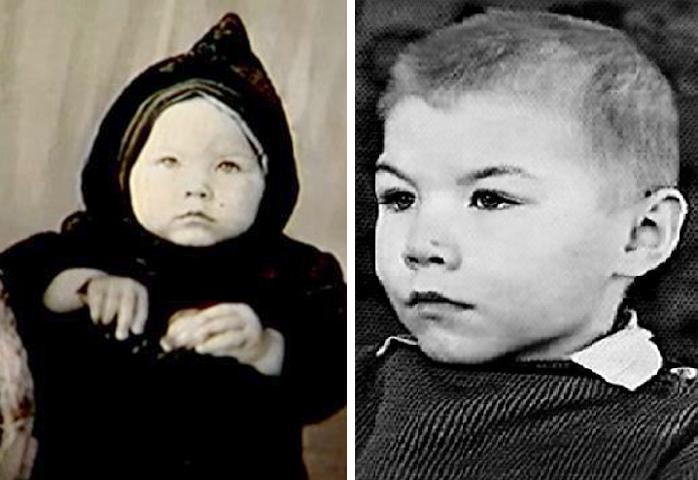 Александр Баширов в детстве