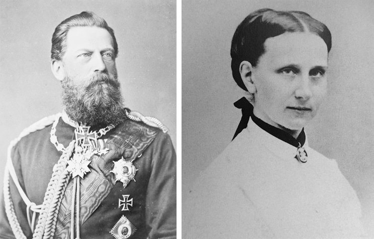 Дети — Фридрих III и Луиза Прусская