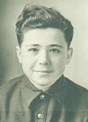 Александр Калягин в 1956 г.