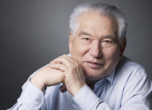 Чингиз Айтматов в старости