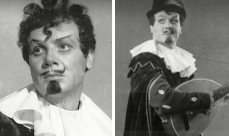 В спектакле «Двенадцатая ночь» (1954)