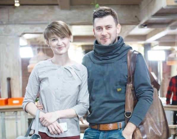 Дмитрий Глуховский и Елена Фуксина