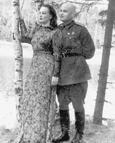 Татьяна Окуневская и Борис Горбатов