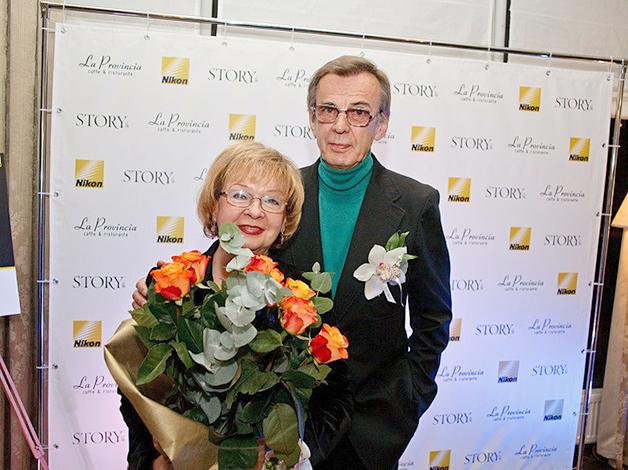Екатерина Маркова и Георгий Тараторкин