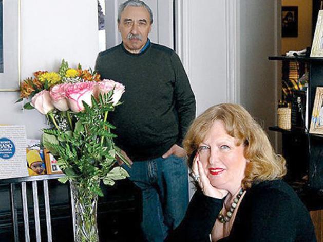 С мужем Юрием