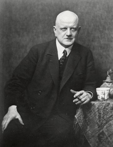 Ян Сибелиус в 1923 г.