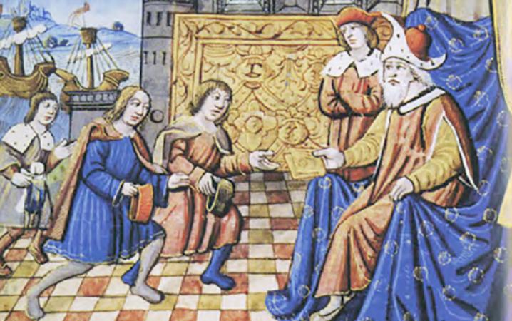 Встреча Марко Поло с Хубилай-ханом