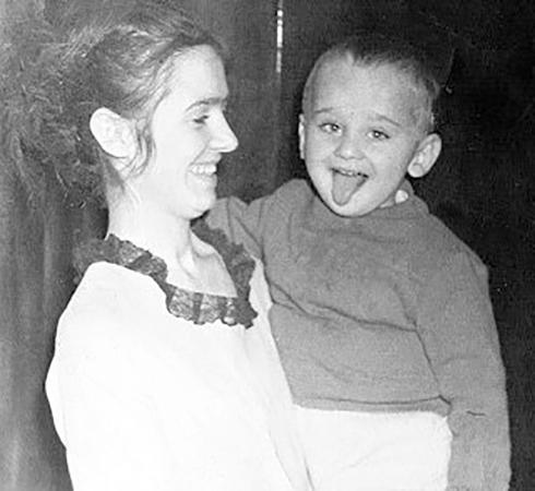 Роман Трахтенберг с мамой