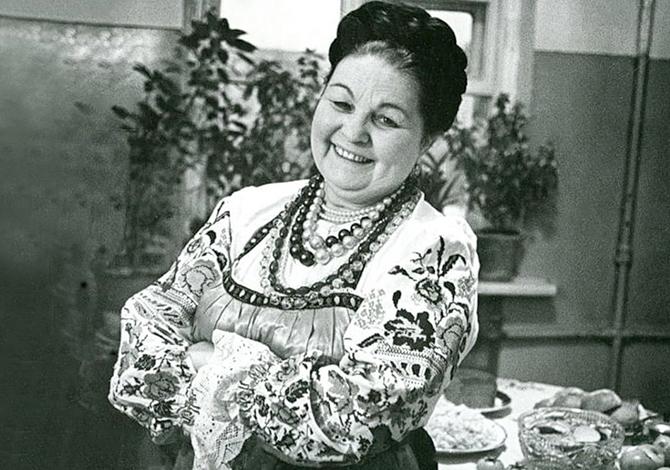 Знаменитая певица Мария Мордасова