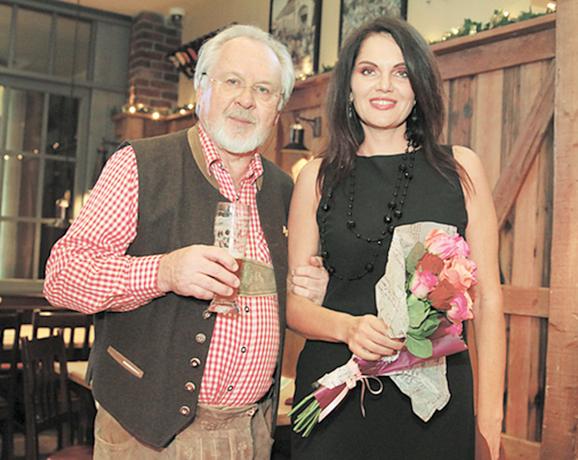 Павел Гусев и Нина Шацкая